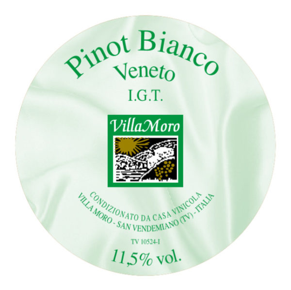 Pinot Bianco I.G.T. - Villa Moro